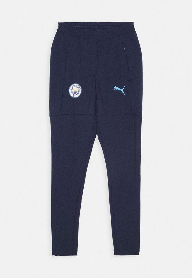 MANCHESTER CITY TRAINING PANT - Pantalon de survêtement - peacoat/team light blue