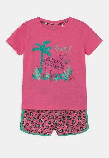 GIRLS SET - T-shirts print - azalea pink