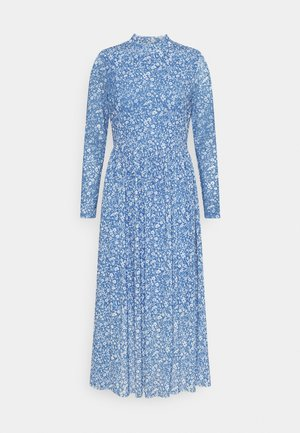 PRINTED DRESS - Day dress - mid blue