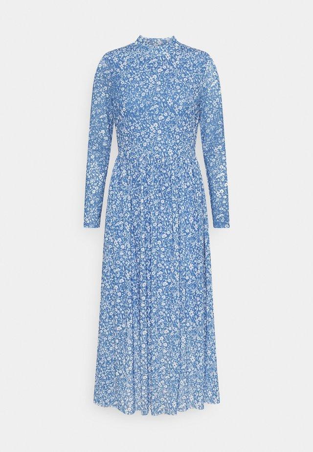 PRINTED DRESS - Robe d'été - mid blue