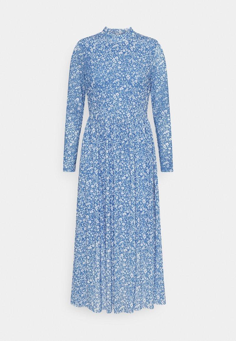TOM TAILOR DENIM - PRINTED  - Day dress - mid blue