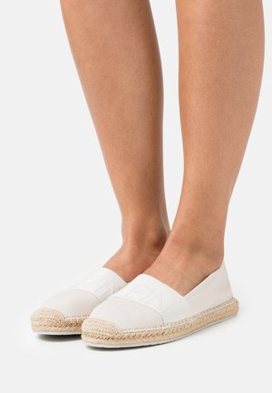 ROPED TOE - Espadrillot - white/sand