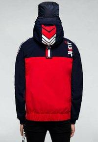 JACK1T - Summer jacket - navy/white/red - 1