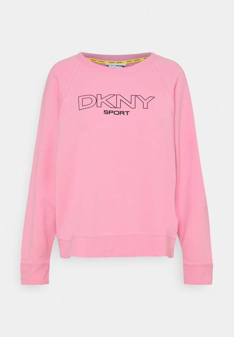 DKNY - LOGO - Sweatshirt - bubblegum