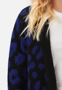 Sugarhill Brighton - ALLIE IKAT ANIMAL - Cardigan - black