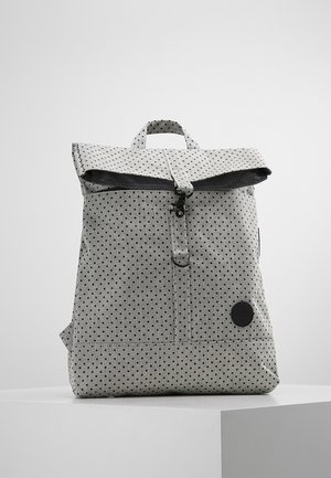 CITY FOLD TOP BACKPACK - Reppu - melange black