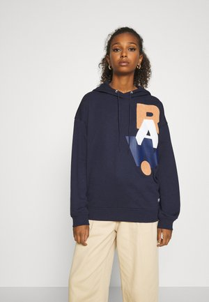 GRAPHIC  - Sweat à capuche - sartho blue