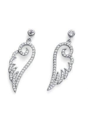 LUXWING - Earrings - weiss