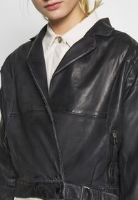 Freaky Nation - LORIANA - Leather jacket - black - 5
