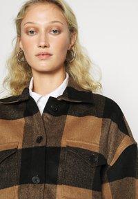 AllSaints - LUELLA CHECK JACKET - Light jacket - brown/black - 4