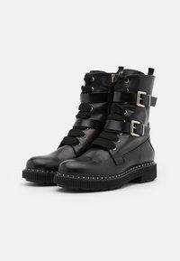 MAX&Co. - MARINAIO - Platform ankle boots - black - 2