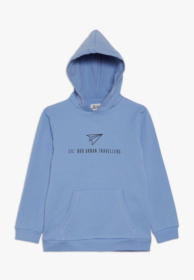 URBAN TRAVELLERS HOODIE - Hoodie - allure blue