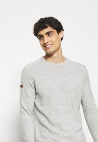 Superdry - HARLO  - Pullover - oil grey twist - 4