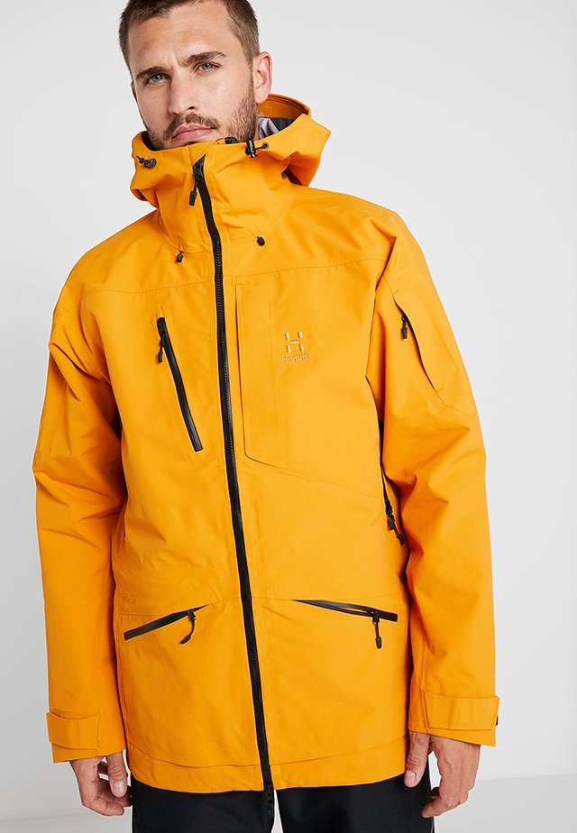 NENGAL 3L PROOF PARKA MEN - Lyžařská bunda - desert yellow/true black