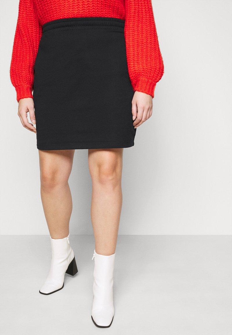 Even&Odd Curvy - Mini skirt - black