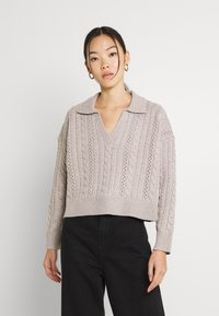 Fashion Union - LORI - Trui - grey - 2