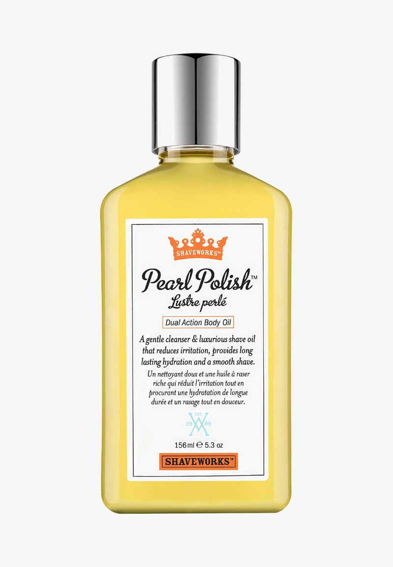 Shaveworks - PEARL POLISH DUAL ACTION BODY OIL 156ML - Hair removal - -