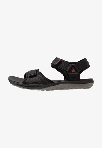STEP BEAT SUN - Walking sandals - black
