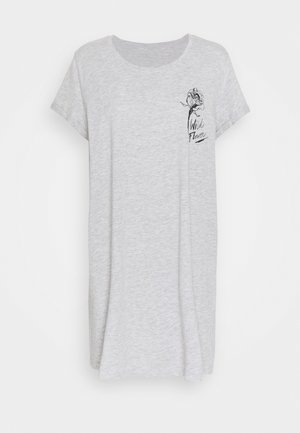 NIGHTIE WILD FLOWER - Nightie - soft grey