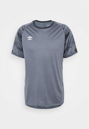 Print T-shirt - turbulence/black