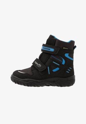 HUSKY - Winter boots - schwarz/blau