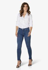 Yest - JOY - Slim fit jeans - mid blue - 1