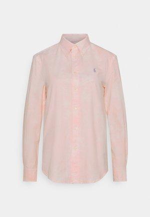 RELAXED LONG SLEEVE - Košile - resort pink