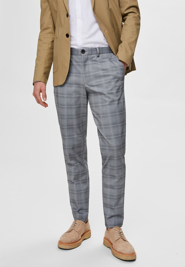 SLHSLIM-AIDEN - Pantaloni - grey