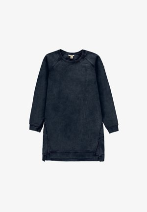 Jersey dress - blue dark washed