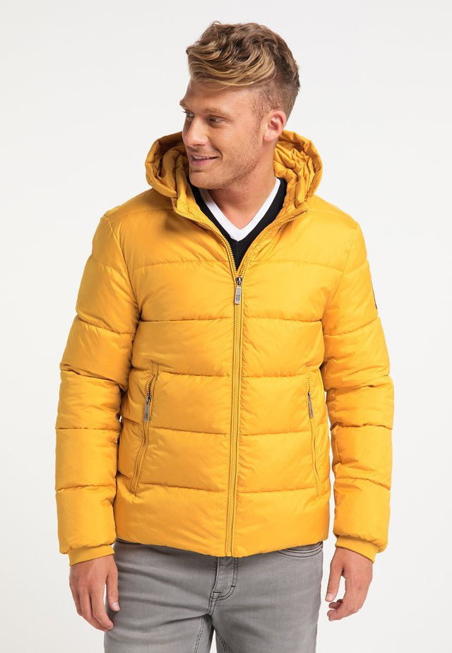 Winter jacket - curry