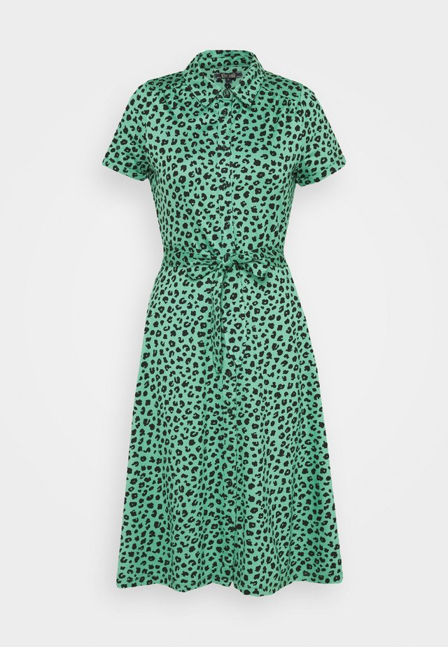 DRESS BOBCAT - Jerseykjole - neptune green