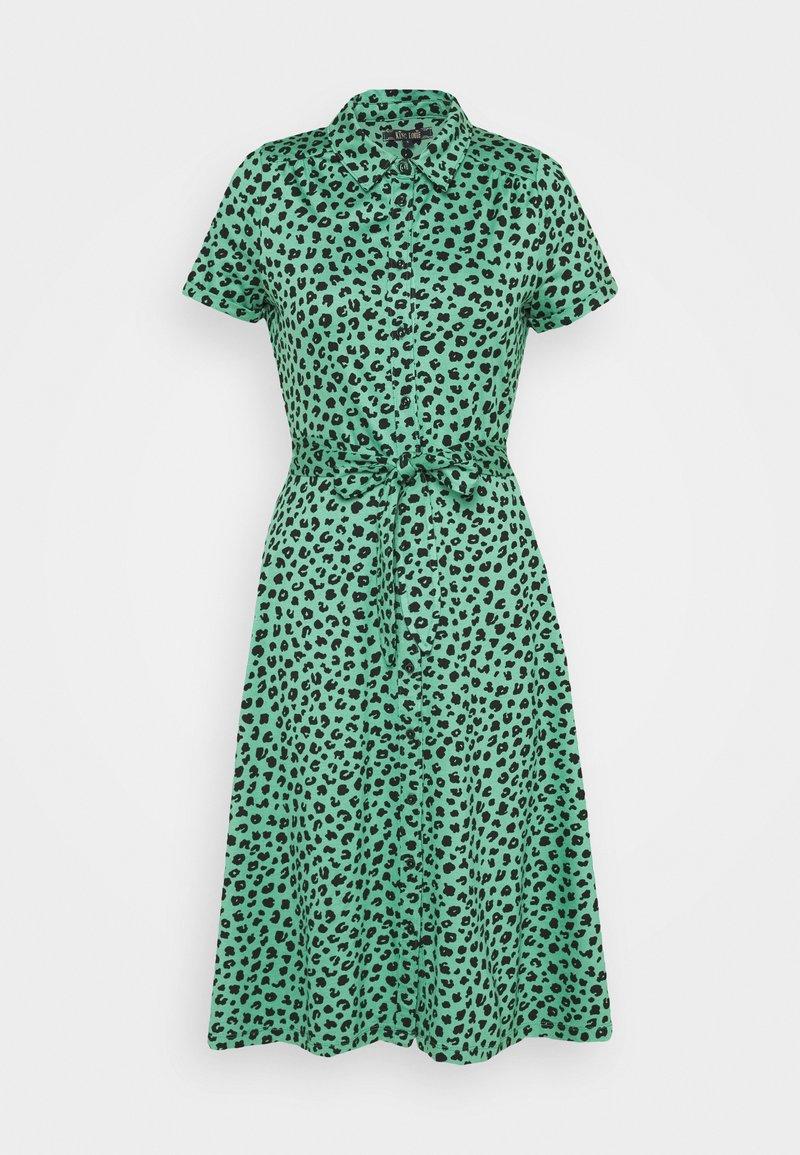 King Louie - DRESS BOBCAT - Žerzejové šaty - neptune green