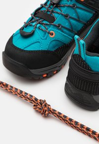 CMP - KIDS RIGEL LOW TREKKING SHOE WP UNISEX - Hiking shoes - rif/antracite - 5