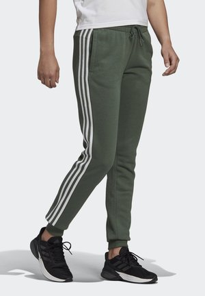 ESSENTIALS FRENCH TERRY STRIPES PANTS - Trainingsbroek - greoxi/white