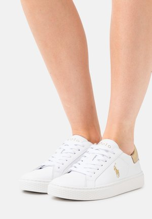 COURT ATHLETIC SHOE - Sneakersy niskie - white/gold