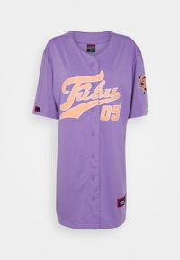 FUBU - VARSITY BASEBALL DRESS - Jersey dress - purple - 6