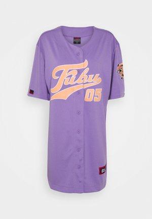 VARSITY BASEBALL DRESS - Jersey dress - purple
