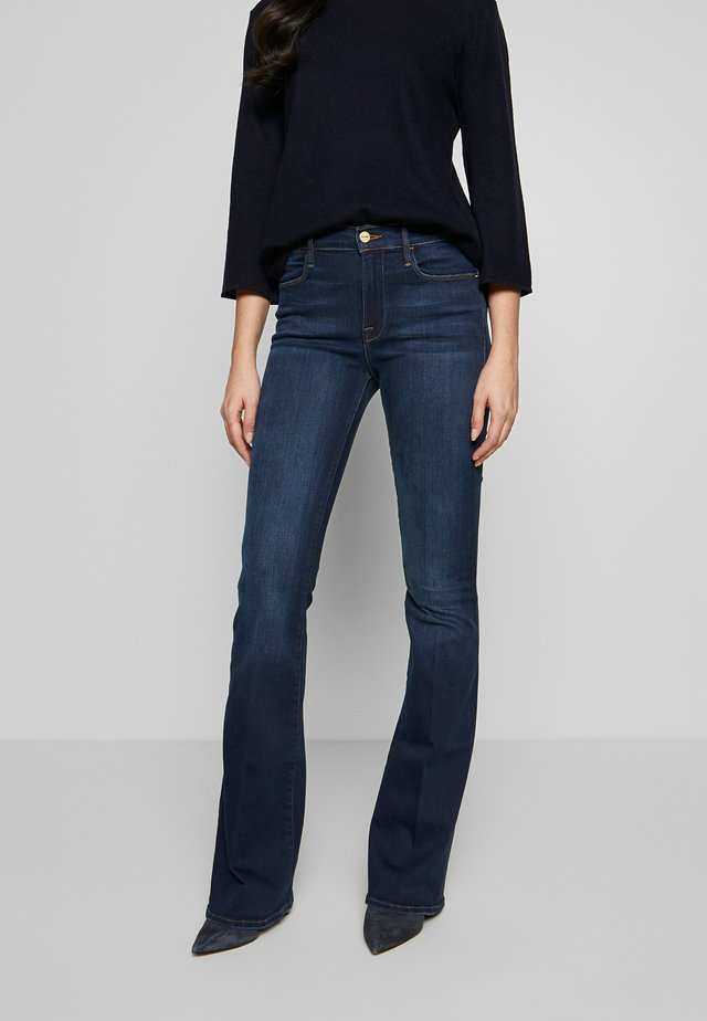 LE HIGH FLARE - Flared Jeans - augusta
