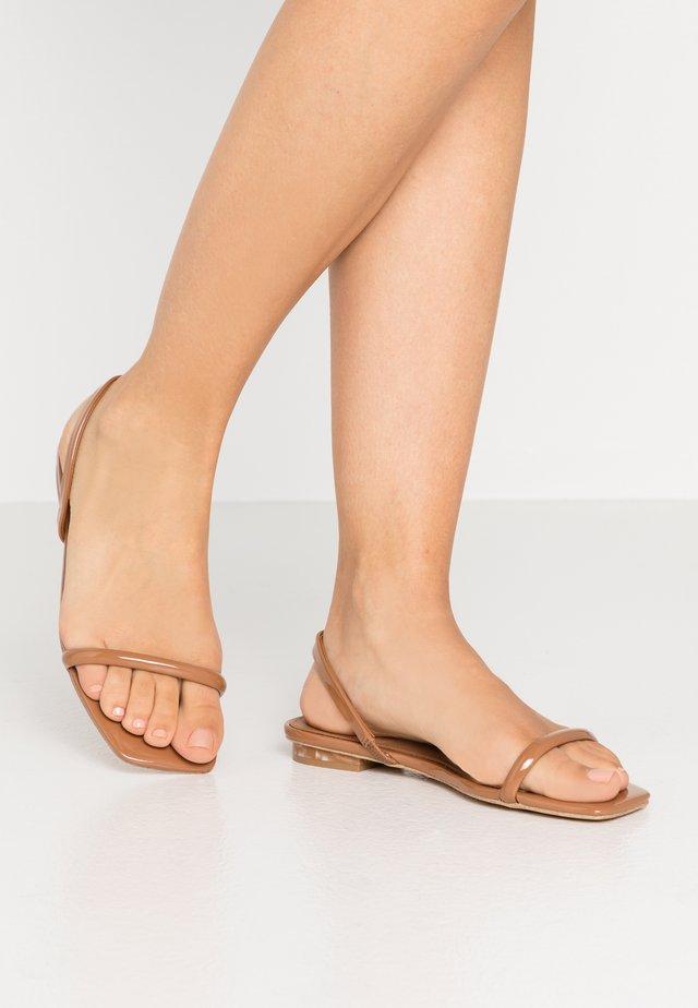 ROCKY BARNES POSITANO - Sandals - medium brown