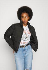 Noisy May - NMCLAUDY JACKET - Winter jacket - black - 0