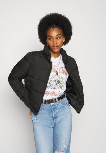 NMCLAUDY JACKET - Winter jacket - black