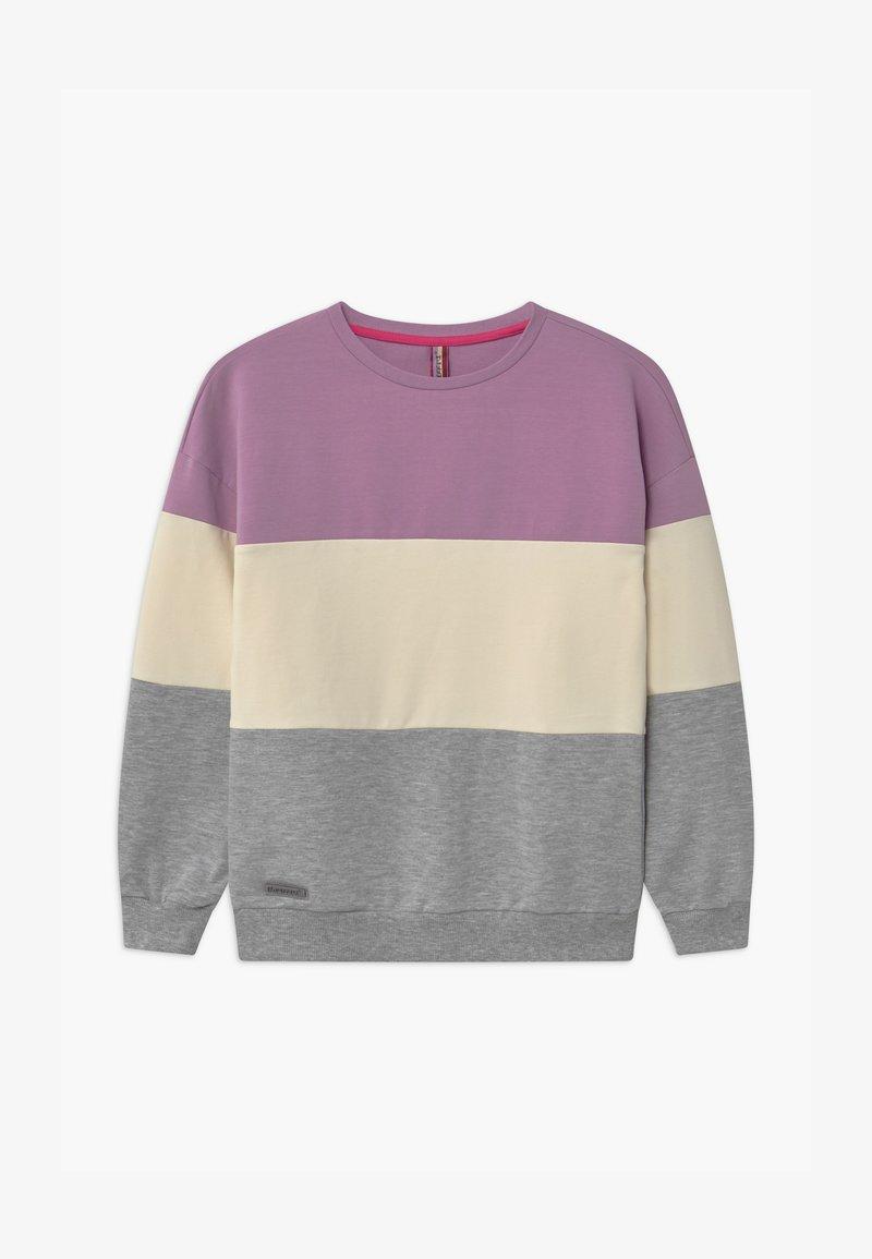Blue Effect - GIRLS FARBENBLOCK - Sweatshirt - pastel lila