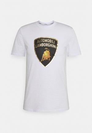 Print T-shirt - ghiaccio