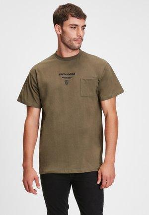 EL MELA - Print T-shirt - light green