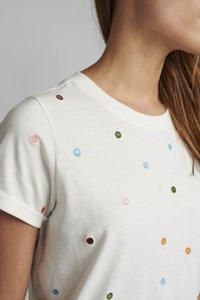 Nümph - NUBRENNAN - T-shirts med print - pristine - 3