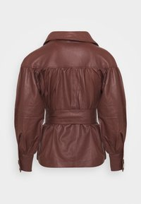 DAY Birger et Mikkelsen - DAY GROW - Leather jacket - cocco - 7