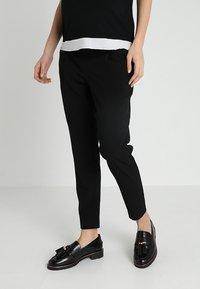 JoJo Maman Bébé - PEGLEG TROUSER - Spodnie materiałowe - black - 0