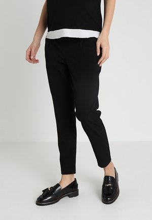 PEGLEG TROUSER - Trousers - black