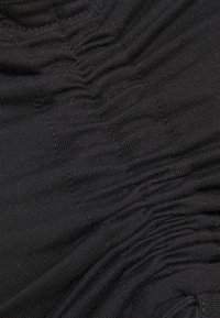 Missguided - BARDOT RUCHED LETTUCE HEM TOP 2 PACK - Long sleeved top - black/camel - 3