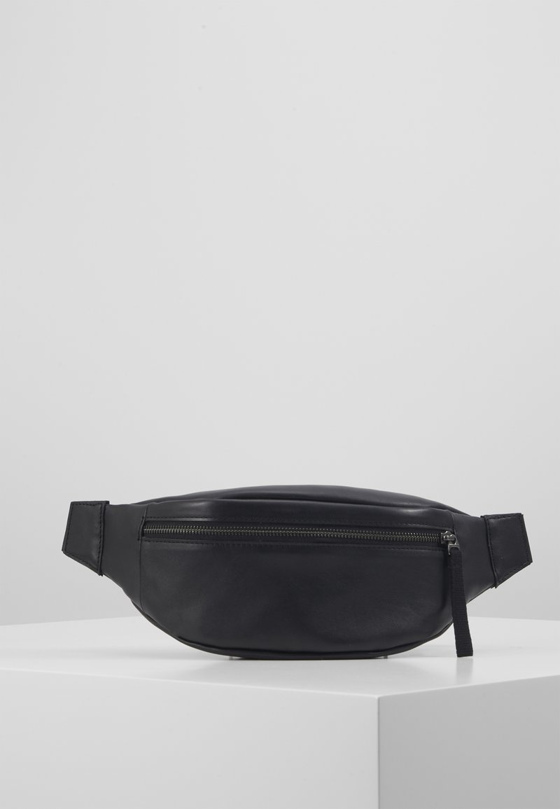 Zign - UNISEX LEATHER - Ledvinka - black